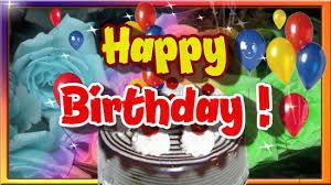 happy birthday greeting with balloons free happy birthday ecards