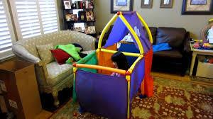 cranium super fort foam playhouse tent building set youtube