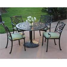 42 inch round pedestal table meadow decor kingston 5 piece patio set 42 inch round pedestal table