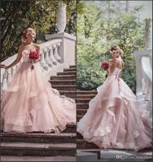 blush tulle fabulous wedding dresses ball gowns 2017 sweetheart