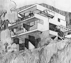 a3n rudolph schindler architect architectural drawings