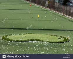 Flag Complex Pitching Green And Flag The Golf Club At Chelsea Piers Sports