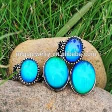 aliexpress mood rings images Mood color change agate stone with multi color changing mood ring jpg