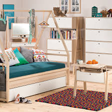 spot chest of four drawers in acacia kids desks drawers wardrobes