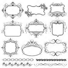 vintage design vintage design frame stock vector vectomart 5787487