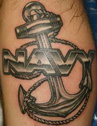 Family Tribute Tattoo Ideas Best 25 Navy Anchor Tattoos Ideas On Pinterest Small Anchor