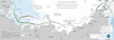 Arctic Ocean Map Transit Arcticecon