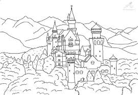 Germany Coloring Pages Funny Coloring Coloring Pages Castles