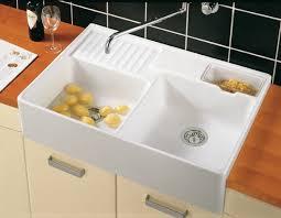 double kitchen sinks villeroy boch kitchen butler 89 5cm x 63cm double kitchen sink