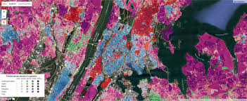 Bronx Map These Colorful Maps Show New York City U0027s Ethnic Density Per Zip