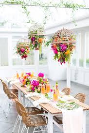tropical greenhouse bridal shower inspiration green wedding