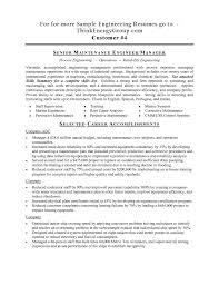 Mechanical Technician Resume Sample Engineering Technician Resume Engineering Technologist