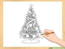 3 ways to draw a tree wikihow