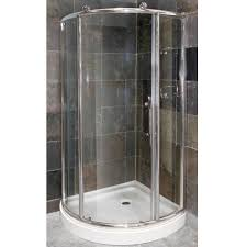 pier 1 4 framed round corner shower door combo foremost bath lightbox