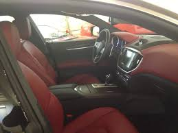 ghibli maserati interior anyone see rosso interior in person page 2 maserati forum