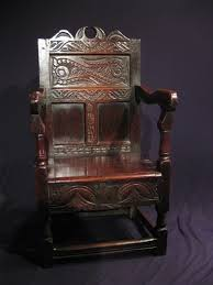 Armchair Sales A Mid 17th Century Lancashire Cheshire Oak Box Seated Wainscot