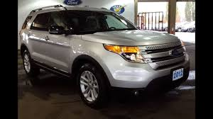 2012 Ford Exploer 2012 Silver Ford Explorer 4x4 Xlt Sport Utility Pre Owned Review