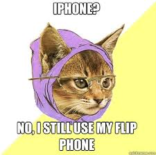 Flip Phone Meme - iphone no i still use my flip phone cat planet cat planet
