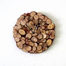 wood wall clock oak clock decor and housewares by shannybeebo