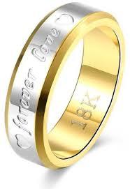 gold color rings images Buy bfjoi engraving name anniversary rings for women men gold jpg