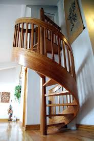Circular Staircase Design How To Build Wood Spiral Deck Stairs Exterior Wood Spiral