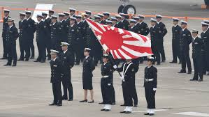 Japanese Navy Flag Japan Approves Record Military Budget To Counter Chinese Threat
