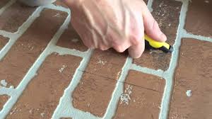 diy faux brick wall home depot youtube