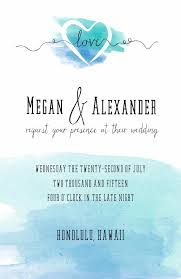 print watercolor wedding invitation printable invites