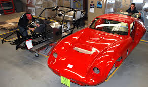 kit cars to build an inside look at factory five racing s massachusetts facility