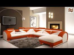 orange leather sectional sofa modern white and orange leather sectional sofa with headrests