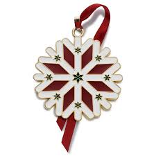 gold plated christmas ornaments wallace wonders of christmas ornament snowflake decoration 2016