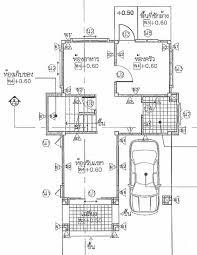 Ground Floor 3 Bedroom Plans Thai House Plans Compact 3 Bedroom