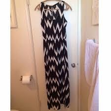 60 off h u0026m dresses u0026 skirts h u0026m black and white maxi dress from
