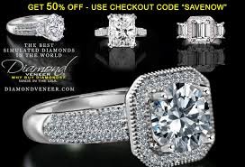 simulated engagement ring best simulated wedding rings in the world simulated