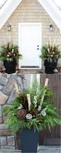 Christmas Decorating Ideas Outdoor Planters Pictures Best 25 Winter Porch Decorations Ideas On Pinterest Christmas