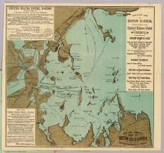 Boston Station Map by Boston Harbor David Rumsey Historical Map Collection