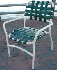 Vinyl Webbing For Patio Chairs Vinyl Patio Chairs Foter