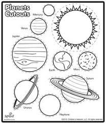 coloring pages solar system easy science coloring pages