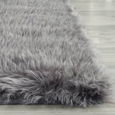 black fur rugs tags faux sheepskin area rug brown and turquoise