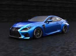 rcf lexus 2016 world u0027s first custom lexus lc 500 debuts in sema alongside tuned
