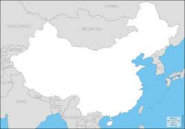 State Map Blank by China Province Outline Map China State Outline Map Province