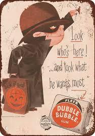 vintage halloween signs halloween trick or treat hanging wall and door signs halloween wikii