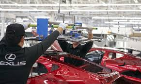 lexus lc uk lexus lc production starts off in motomachi japan drivers magazine