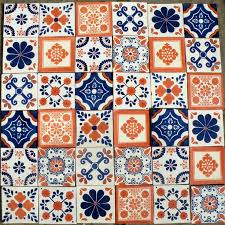 Mexican Tile Bathroom Ideas Colors Best 25 Mexican Tiles Ideas On Pinterest Mexican Pattern