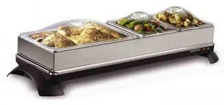2 in 1 cordless buffet server u0026 warming tray toastess