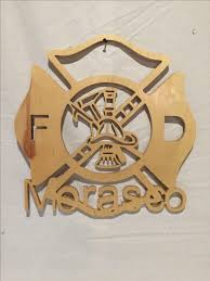 wooden maltese cross buy a custom maltese cross wood cut out with your name embedded