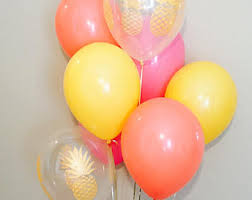 pineapple party balloons pineapple balloons pineapple party