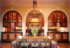 charles hilton architects american brick georgian warm kitchen