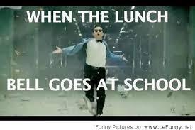 School Lunch Meme - lunch bell at school