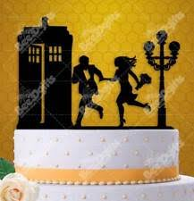 dr who wedding cake topper doctor who tardis cake topper ebay